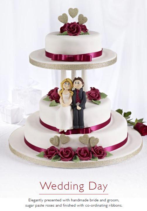 Wedding Day Cake